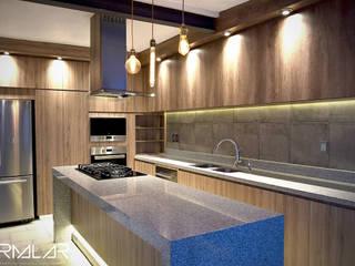 Proyecto CSC Cocinas modernas de ARMALAR Moderno