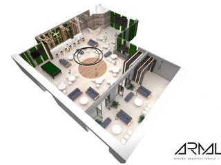 Proyecto SPLC 2 Salas multimedia modernas de ARMALAR Moderno