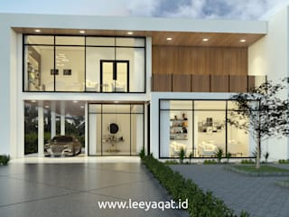 Single family home by PT. Leeyaqat Karya Pratama, Modern