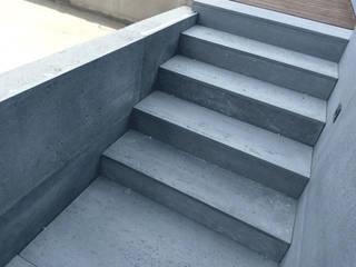Pomysł na schody: beton architektoniczny od Luxum Industrialny