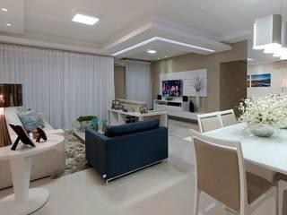 Sala de Estar: Salas de estar  por Gleide Belfort interiores,Clássico