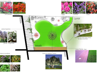 de estilo  por Jardins e Exteriores - Arthur Pereira - Arqto. Paisagista