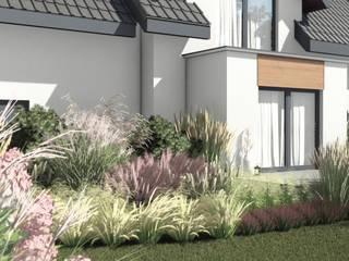 Modern Garden by STTYK - Pracownia Architektury Wnętrz i Krajobrazu Modern