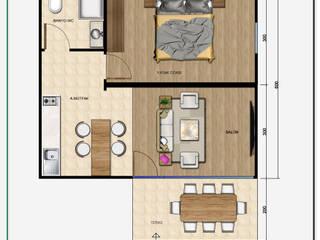 MOBİL VİLLA ( 2 + 1 ) Kırsal Evler MOVİ evleri Kırsal/Country