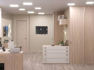 Интерьер четырёхкомнатной квартиры в ЖК «Мирный» от ИнтеРИВ Минимализм