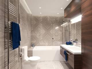 Современный модернизм в интерьере для современного мужчины Ванная комната в стиле модерн от ИнтеРИВ Модерн