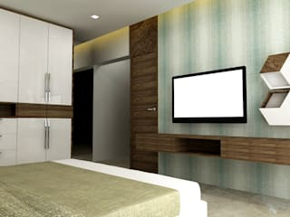 Shailja Bajaj:  Bedroom by DesignTechSolutions