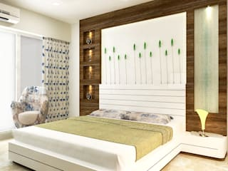 Bedroom:  Bedroom by DesignTechSolutions