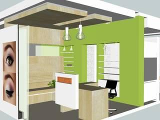 Saloon interior design by EX SERVICEMAN ENTERPRISES Minimalist