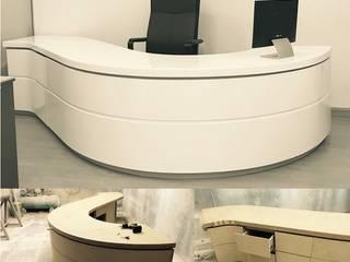 School reception space: modern  by EX SERVICEMAN ENTERPRISES,Modern