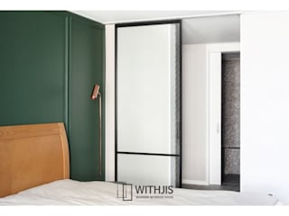 WITHJIS(위드지스) Small bedroom Aluminium/Zinc Black