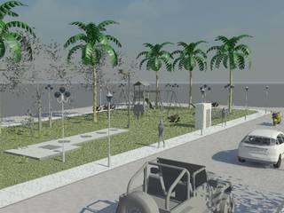 Solicitação de desenho 3d de Elevatória por TAFS interiores e 3D Minimalista