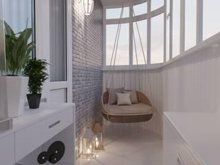 Balcón de estilo  por ReDi