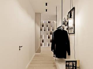 Квартира в ЖК «Тайм» Коридор, прихожая и лестница в стиле лофт от ReDi Лофт