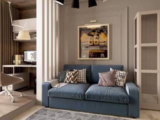 Квартира ЖК «Шесть звезд» Гостиная в классическом стиле от ReDi Классический
