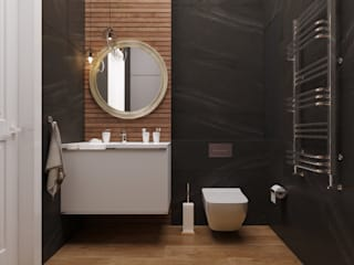 Квартира ЖК «Шесть звезд» Ванная в классическом стиле от ReDi Классический