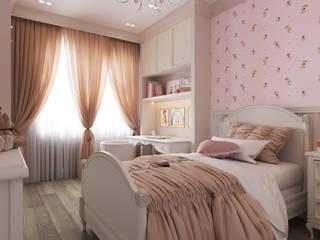 Квартира в ЖК «Бульварный переулок» Детская комнатa в стиле минимализм от ReDi Минимализм