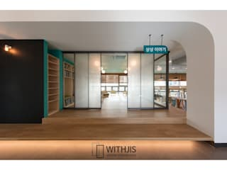 WITHJIS(위드지스) Office buildings Aluminium/Zinc Black
