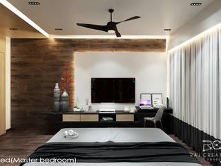 Raj Creation Dormitorios de estilo minimalista