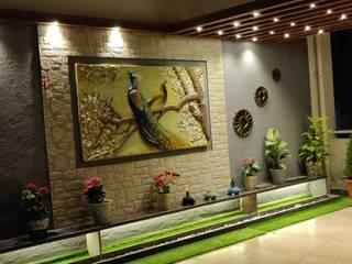 Balcones y terrazas de estilo moderno de The D'zine Studio Moderno