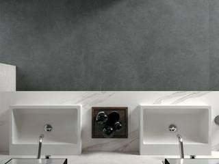 Baños de estilo moderno de Brukomtegel Moderno