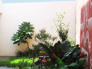 Baghorama Landscape Architects Halaman depan Beton White