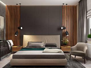 Природный концепт Спальня в стиле минимализм от Наталья Преображенская | Студия 'Уютная Квартира' Минимализм