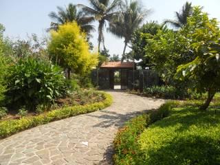 Baghorama Landscape Architects Halaman depan Batu Grey