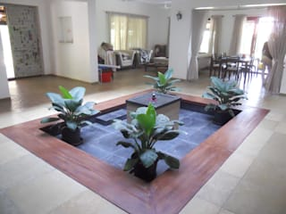 Baghorama Landscape Architects Pondok taman Granit Black