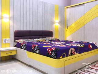 Taruna sadan ( Resedential apartment):  Bedroom by Raj Creation