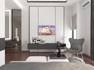 Lighthouse Architect Indonesia Modern Bedroom