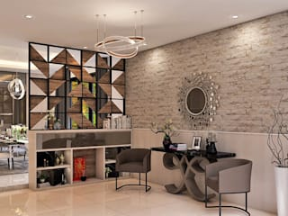 Salon moderne par Lighthouse Architect Indonesia Moderne