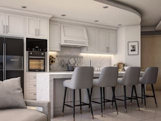 Kitchen by Lighthouse Architect Indonesia, Colonial