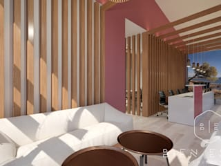 Study/office by Bien Estar Architecture