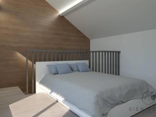 Small bedroom by Bien Estar Architecture