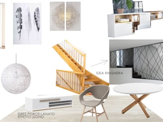 PROPOSTA INTERNO MINIMAL:  in stile  di SAMANTHA PASTRELLO INTERIOR DESIGN