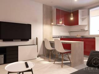 Dining room by Bien Estar Architecture