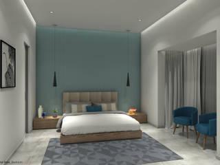 Phòng ngủ phong cách tối giản bởi VA design studio Tối giản