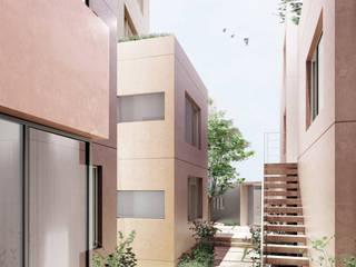 自然素材の賃貸マンション 玉川台のアパートメント ミニマルな 家 の 平野崇建築設計事務所 TAKASHI HIRANO ARCHITECTS ミニマル