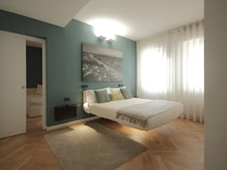 luigi bello architetto Modern style bedroom