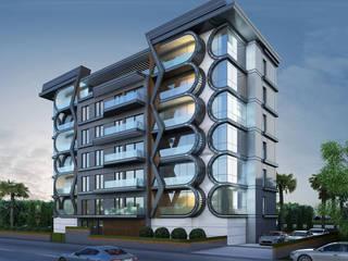 Moderne Häuser von MİNERVA MİMARLIK Modern