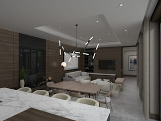 Modern Dining Room by Estudiotres Modern