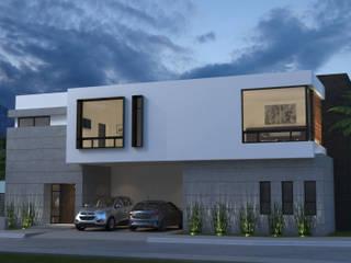 Casa GG: Casas de estilo  por Estudiotres,