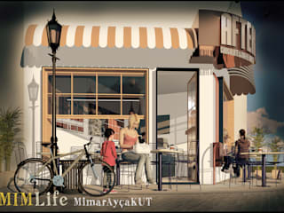 AFTER CHOCOLATE & COFFEE HOUSE MİMLIFE-MİMAR AYÇA KUT Modern
