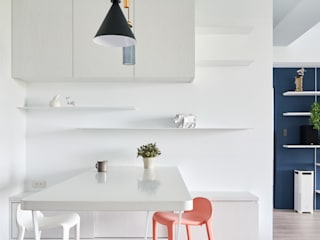 Minimalist dining room by 思維空間設計 Minimalist