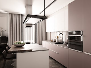 Eclectic style kitchen by Be In Art Eclectic