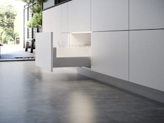 Kvik Keuken, Badkamer & Garderobe KitchenStorage White