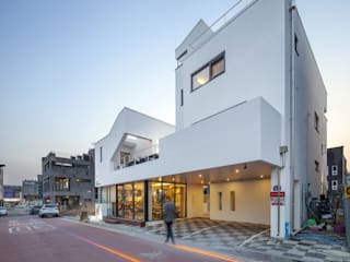 (주)건축사사무소 더함 / ThEPLus Architects Terrace house White