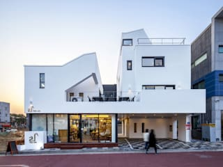 (주)건축사사무소 더함 / ThEPLus Architects Terrace house