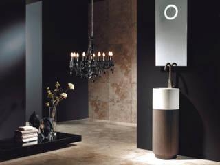 Conjunto mueble de baño diseño LOFT Mobiliario de baño Taberner BañosAseos Contrachapado Acabado en madera